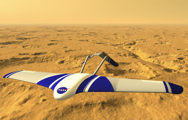 The ARES (Aerial Regional-scale Environmental Survey), a robot glider that